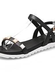 Women's Shoes Leather Platform Platform / Gladiator Sandals Office & Career / Dress / Casual