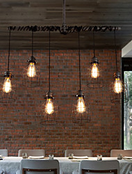 Nordic Industrial Personality Art Cafe American Chandelier Restaurant Chandelier Creative Iron Pipes
