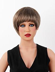 Spiffy Ultrashort Top Sale Human Hair Wig  Hair Short Wig 14 Colors to Choose