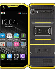 "Kenxinda PRONFINGS W7 5.0 "" Android 5.1 Smartphone 4G (Chip Duplo Quad Core 8 MP 1GB + 8 GB Cinzento / Amarelo)"