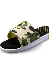 Черный / Синий / Зеленый / Красный-Мужская обувь-На каждый день-PU-Сандалии