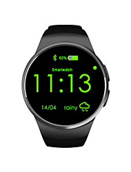 The New Listing Of Smart Watches KW18 Full HD IPS Screen Circle Card Test Heart Rate Support Android And Apple System