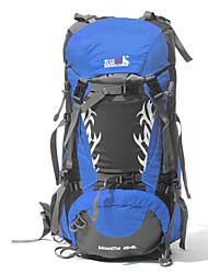 45+5 L mochila Acampada y Senderismo / Escalar / Deportes de ocio / Viaje Al Aire LibreImpermeable / Secado Rápido / A prueba de lluvia /