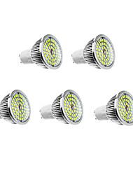 6W GU10 LED Spot Lampen 48 610 lm Warmes Weiß / Natürliches Weiß AC 100-240 V 5 Stück