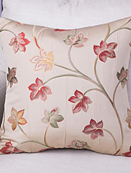 Jacquard Cushion Cover -Red