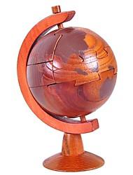 Rompecabezas Puzzles 3D / Puzzles de Madera Bloques de construcción Juguetes de bricolaje Esfera Madera Rojo Modelismo y Construcción