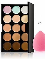 a nova base de maquiagem profissional quente especial paletas cosméticos 15 cores Corretivo Camouflage face facial creme de cuidado