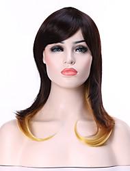 longs couleur femme »la mode des perruques de cheveux synthétiques droites pour la fête
