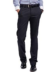 Lesmart Hommes Droite / Costume / Tailleur Pantalon Noir - LW13432