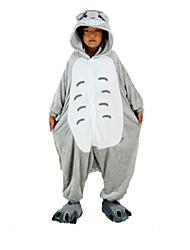 nuevos niños de franela totoro cosplay® Kigurumi pijama (sin zapatos)