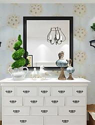 papel de parede Floral Papel de parede Contemporâneo Revestimento de paredes,PVC/Vinil