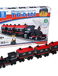 bloques de montaje de bloques de construcción del tren de vapor