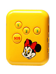 gps de alarma de localización personal GPS de doble modo de seguimiento de posicionamiento de seguridad ancianos niño