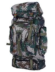 60 L Zaini da escursionismo / Zaini Laptop / Organizzatore di viaggio / zaino Campeggio e hiking / Scalata / ViaggiAll'aperto /