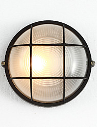 Single Head E27 Lampholder IP45 Waterproof Metal Base Wall Lamp for Corridor / Balcony Decorate Wall Lamp