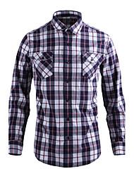 JamesEarl Herren Hemdkragen Lange Ärmel Shirt & Bluse Rot - DA112009501