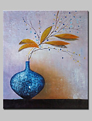 Lager Handpainted Modern Art Flower Oil Painting On Canvas For Living Room Home Decor Wall Paintings Whit Frame