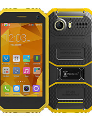 "Kenxinda PROOFINGS W6 4.5 "" Android 5.1 4G Smartphone ( Dual - SIM Quad Core 5 MP 1GB + 8 GB Gelb / Grau )"