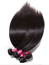 3pcs Brazilian virgin hair straight brazilian straight hair  8''-30'' straight brazilian virgin hair