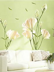 giglio ambientale autoadesivo della parete a forma di soggiorno / camera da letto