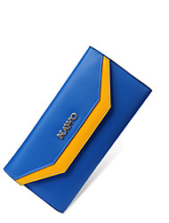 Nawo Donna Vacchetta Porta assegni Blu-N352131