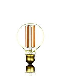1 Stück NO Dimmbar / Dekorativ LED Kugelbirnen G80 E26 / E26/E27 6W 300-500 lm 2200K 2700K K 6 COB Warmes Weiß AC 220-240 V