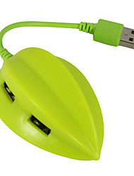 usb 2.0 4 ports / interface de hub usb beau fruit caramboles 7 * 2 * 2