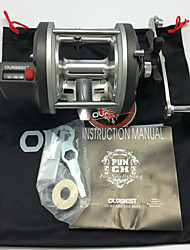 Trolling Reels 4.2:1 4 Ball Bearings Right-handed Sea Fishing / Bait Casting & Boat Fishing-PUNCH 820 OURBEST
