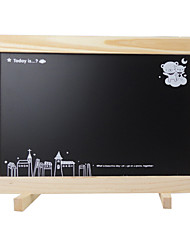 Log Hanging Type Message Board, Support Type Dual Purpose Magnetic Small Blackboard