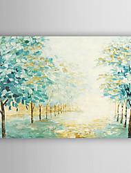 ручная роспись маслом пейзаж мяты зеленые леса с растянутыми кадр 7 стены arts®