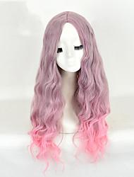 corpo sintético perucas sintéticas onda sem tampa alta multi-color de qualidade