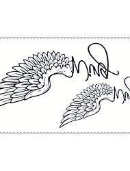мода временные татуировки крылья сексуальное боди-арт наклейки водонепроницаемый татуировки 5pcs (размер: 2,36 '' от 4,13 '')