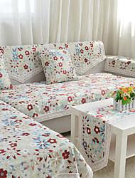 pays tissu floral serviette canapé haut de gamme canapé en tissu chenille serviette