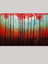 ручная роспись маслом впечатление пейзаж стены искусства с растянутыми обрамлении готовы повесить