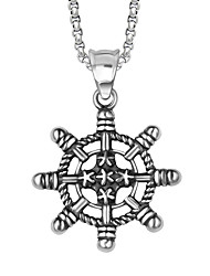 Style Restoring Ancient Ways The Rudder Shape Atmospheric Pendant (Excluding The Chain)