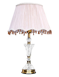 40 Traditional/Classic Table Lamps , Feature for Crystal / Multi-shade , with Electroplated Use On/Off Switch Switch