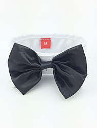 Dog Tie/Bow Tie Black Dog Clothes Spring/Fall Wedding