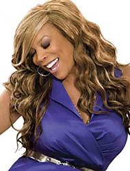 top vente de longue taille multi-couleurs cheveux bouclés perruques synthétiques