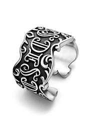 Titanium Steel Ring Man Banzhi Restoring Ancient Ways Ring