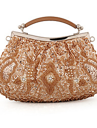 Women of European and American popular vintage handmade beaded BaoZhu embroidered bag dinner packages