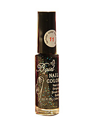 Bgirl Painting Black 10ML Manicure Drawing Pen Nail Polish for 3 Years