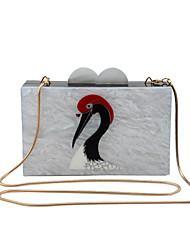 L.WEST Women's Handmade Animal Motifs Evening Bag