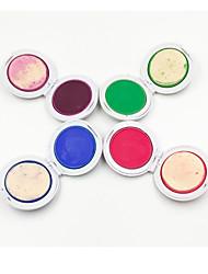 1set 4 couleurs de colorant en poudre de cheveux caketemporary craie cheveux poudre colorant doux pastels partie de salon de Noël diy