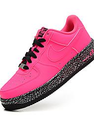 Sapatos Basquete Feminino Preto / Rosa / Preto e Vermelho / Preto e Branco Couro