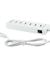 usb 2.0 6 ports / interface USB lecteur de carte concentrateur sd / tf combo 15.8 * 4.5 * 1.9