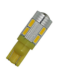 10X Super  T10 Wedge 10-SMD 5630 LED Light bulbs W5W 2825 158 192 168 194