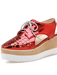 Women's Shoes Wedge Heel Square Toe Slingback Lace-up Pumps Shoes More Colors Available