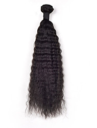 6A Malaysia Human Hair Kinky Straight Weave 1Pcs/Lot Malaysia Virgin Hair Kinky Straight Hair Weaves 12-26inch Sale.