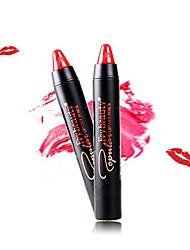 Barras de Labios Húmedo Crema Gloss colorido Rojo / Rosa 1 No