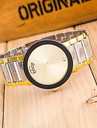 Women's Fashion Rhinestones Steel Belt Quartz Wrist Watch Cool Watches Unique Watches